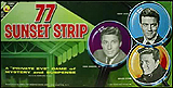 77 Sunset Strip - image of board game of the show